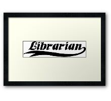 Librarian Framed Print