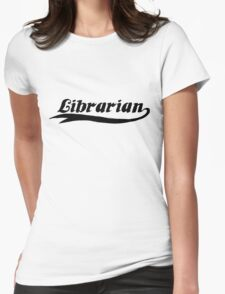 Librarian Womens Fitted T-Shirt