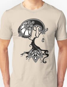 Paisley Tree Graphic Tees and Stickers T-Shirt
