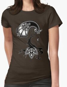 Paisley Tree Graphic Tees and Stickers Womens Fitted T-Shirt