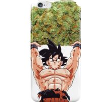 goku weed iPhone Case/Skin