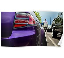 Widebody Acura TL Poster