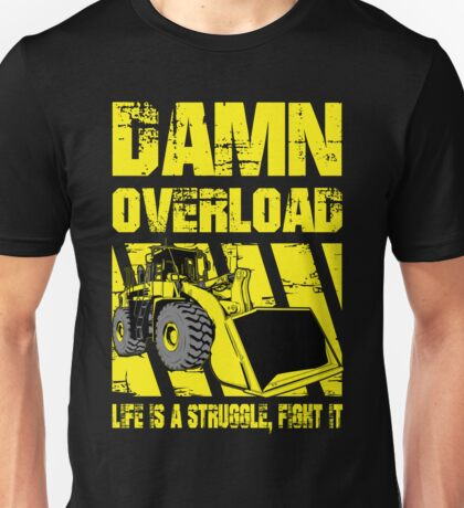Wheel Loader Unisex T-Shirt