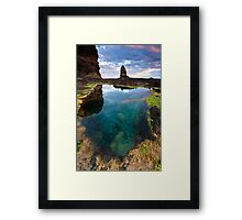 Pulpit Pool Framed Print