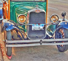 1929 old Chevy truck front side view2 by henuly1