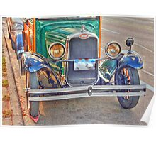1929 old Chevy truck front side view2 Poster