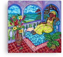 Caribbean Meditation Canvas Print