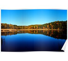 Fall at Mendon Ponds Poster