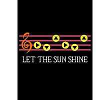 Sun Song Photographic Print