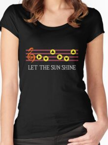 Sun Song Women's Fitted Scoop T-Shirt