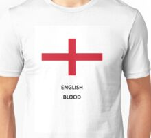 English Flags and Shirts Unisex T-Shirt