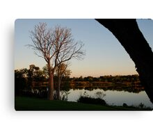 Sunsetting on the Ord Canvas Print