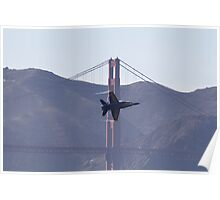Buzz over the Golden Gate Poster