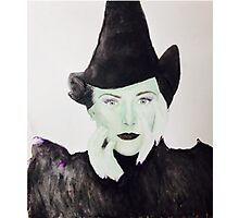 Wicked Witch of the West Photographic Print