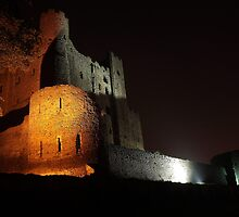 Rochester Castle by Night by Dave Godden