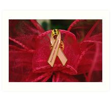 Breast Cancer Awareness Art Print