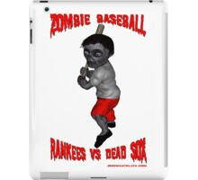 Zombie Baseball - Rankees vs Dead Sox iPad Case/Skin