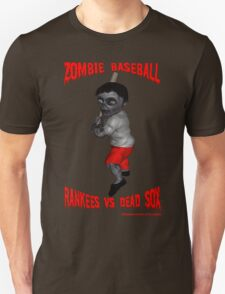 Zombie Baseball - Rankees vs Dead Sox T-Shirt