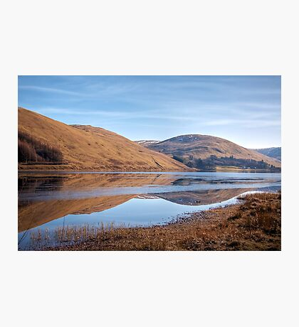 Reflections in the Loch o'the Lowes Photographic Print