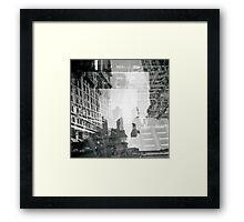 Mc Echer wannabe Framed Print