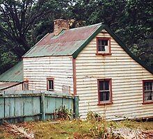 The old homestead - Ox Park - Tryphena, Gt. Barrier Island. by Roy  Massicks