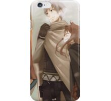 Ookami to Koushinryou - Spice and Wolf - Kraft Lawrence and Holo iPhone Case/Skin
