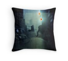 NYC Underwater Throw Pillow