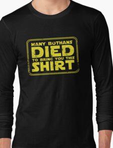 Many Bothans died bring you this shirt T-Shirt