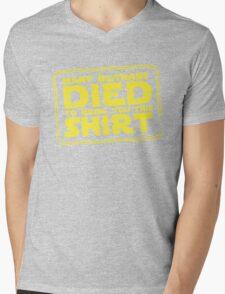 Many Bothans died bring you this shirt Mens V-Neck T-Shirt