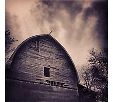 A Frame Rustic Barn Photographic Print