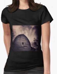 A Frame Rustic Barn Womens Fitted T-Shirt