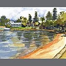 Freshwater Bay, Perth  by Mary Taylor
