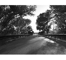 One lane bridge on the San Pedro Photographic Print