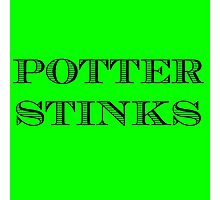Potter Stinks Photographic Print