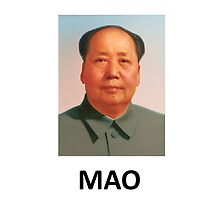 Mao Zedong Merchandise - Chairman Mao by vintageposters