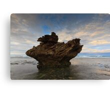 And Upon This Rock Canvas Print