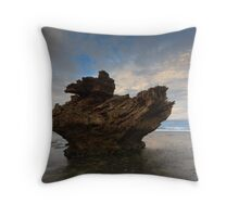 And Upon This Rock Throw Pillow