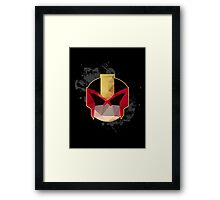 Judge, Jury and Executioner - Judge Dredd Framed Print