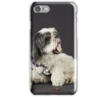 Bogie posing under studio Lights iPhone Case/Skin
