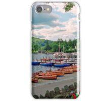Harbourscene, Ambleside, Lake Windermere iPhone Case/Skin