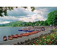 Harbourscene, Ambleside, Lake Windermere Photographic Print