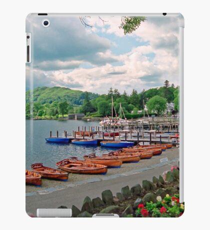 Harbourscene, Ambleside, Lake Windermere iPad Case/Skin