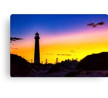 lighthouse early morning sunrise Canvas Print