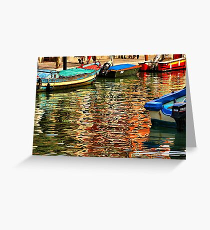 Colors of Murano Greeting Card