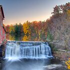 Sunset at Dells Mill by ECH52
