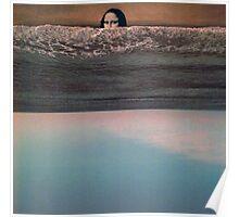 Collage: Mona Lisa Sea. Poster
