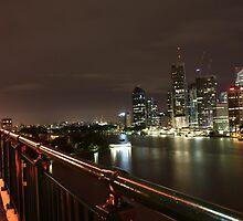 Riverside Walk by Peter  Holroyd