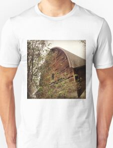 Rustic A Frame Barn Lost in the Trees Unisex T-Shirt