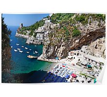 Praiano Beach Poster