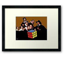 Rembrandts Rubik Framed Print